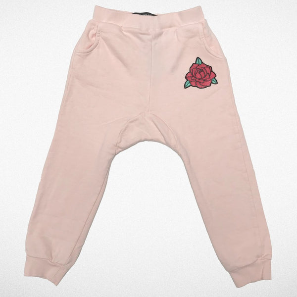 Rosey Jogger Pants - Faded Pink
