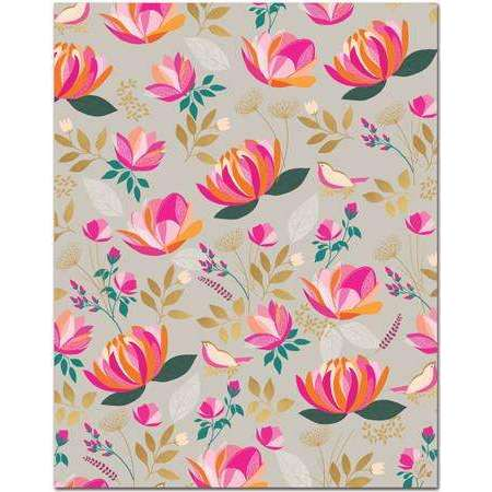 Florals Gift Wrap 1 Roll