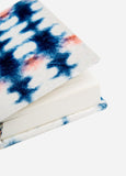 Indigo Inkblot Velvet Journal