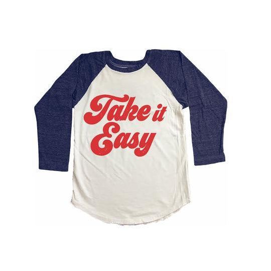 Take It Easy Raglan Tee
