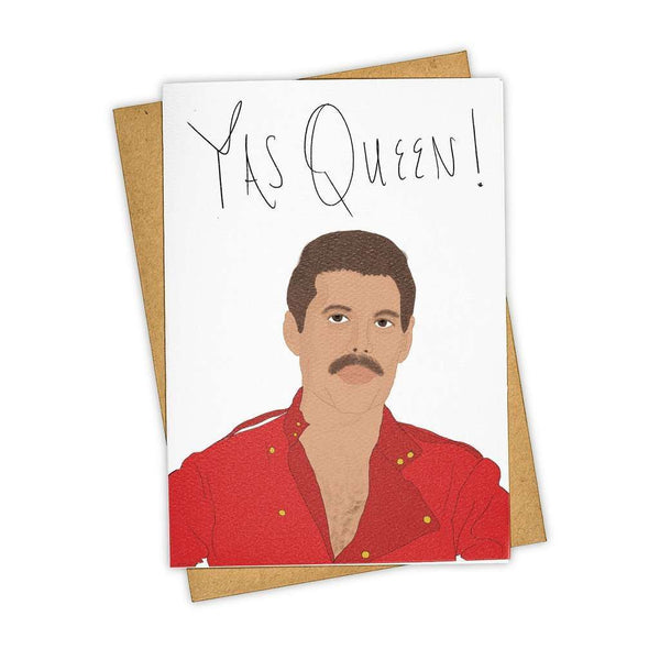 Yes Queen Greeting Card