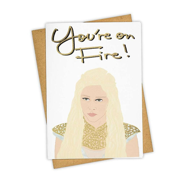 Dragon Queen Greeting Card