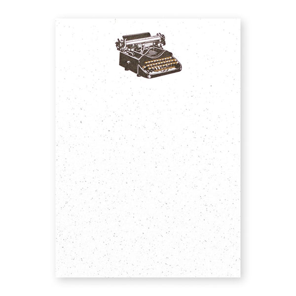 Stationery Note Cards Typewriter Set