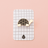 Black Tortoise Enamel Pin