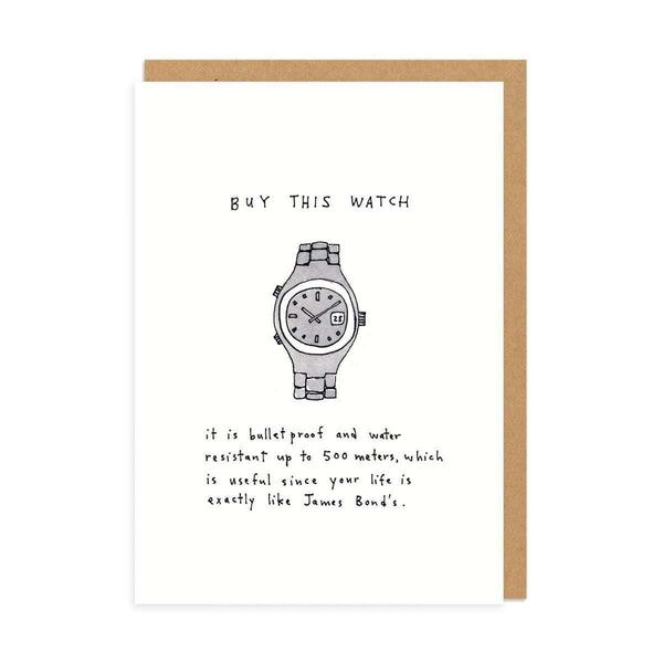Buy This Watch Greeting Card