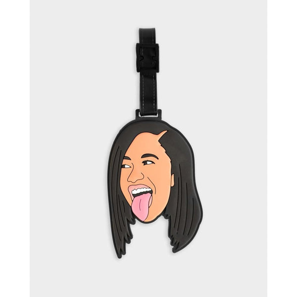 Cardi B Luggage Tag luggage tags