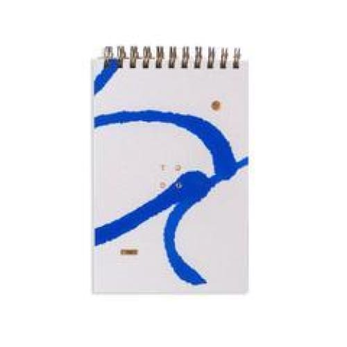 Daily Jotter - Blue notepad
