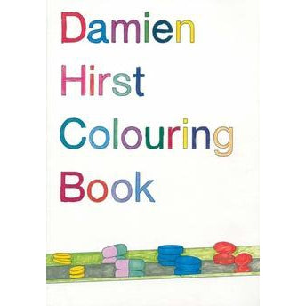 Damien Hirst Colouring Book