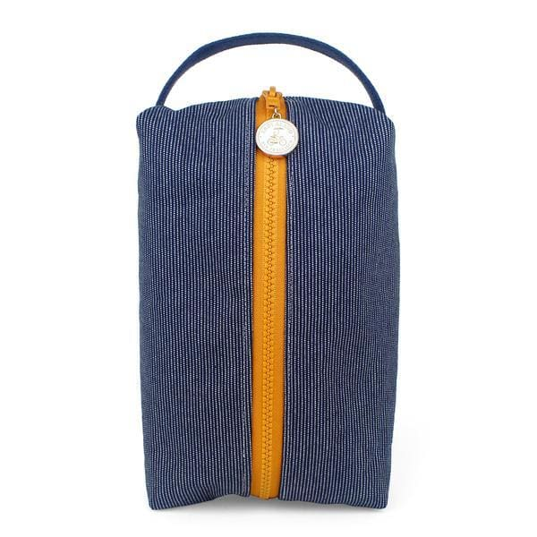 Denim Stitch Box Pouch pouch