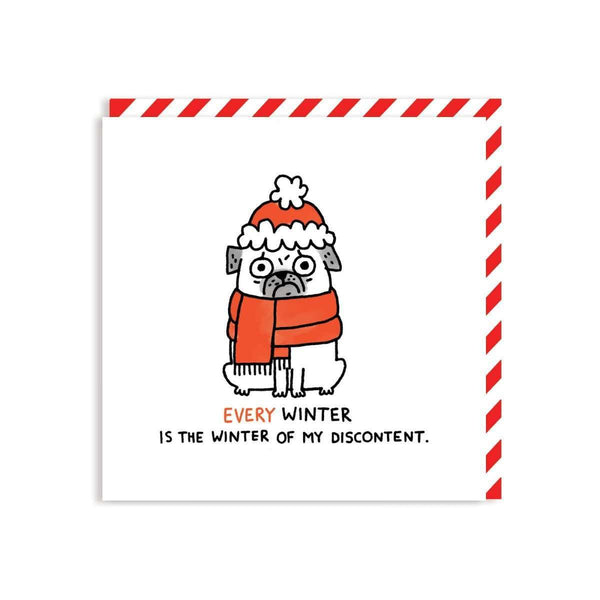 Every Winter Is The Winter Of My Discontent Square Greeting Card