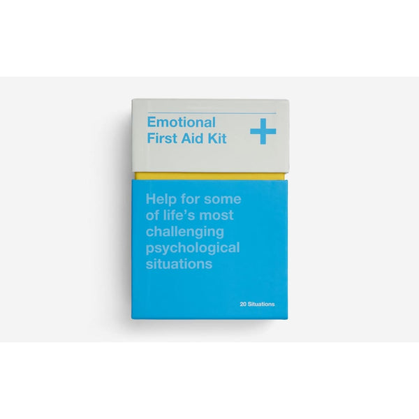 Emotional First Aid Kit Notebook