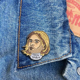 Found Pin- Kurt Cobain Pin