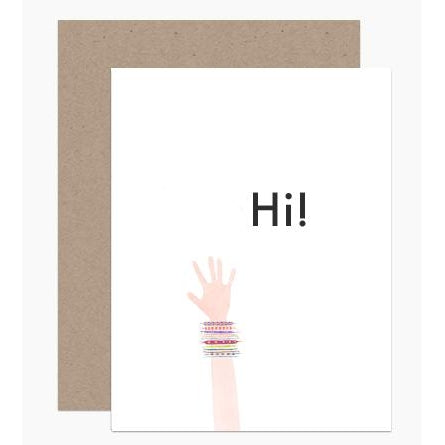 Hi Friend Greeting Card
