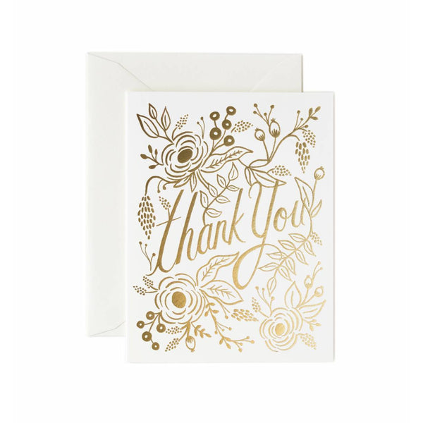 Marion Thank You  Greeting Card