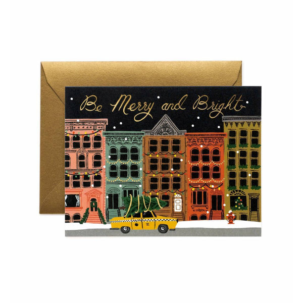 Boxed Set Of City Holiday Cards