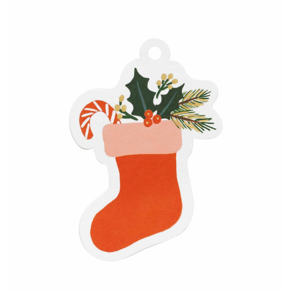 Stocking Die-Cut Gift Tags