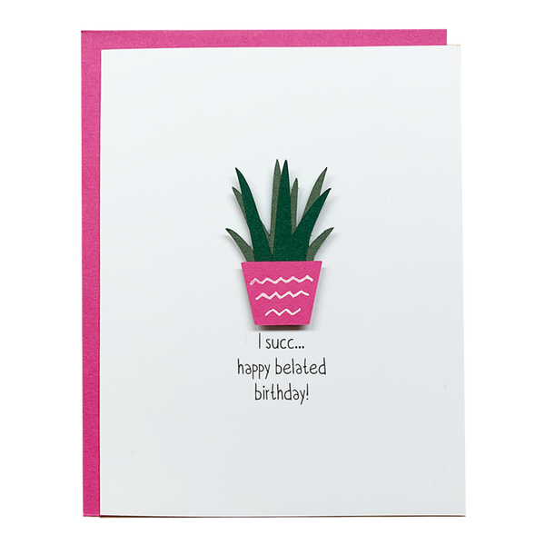 I Succ Greeting Card