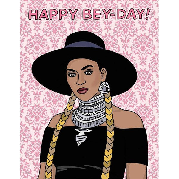 Happy Bey-Day Greeting Card
