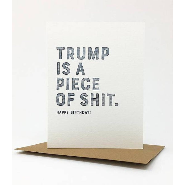 Trump Shit  Greeting Card