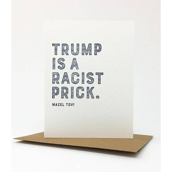Trump Prick Greeting Card
