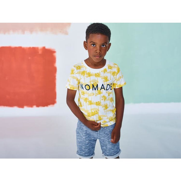 Nomade Graphic Tee by Jean Bourget Kids Clothing