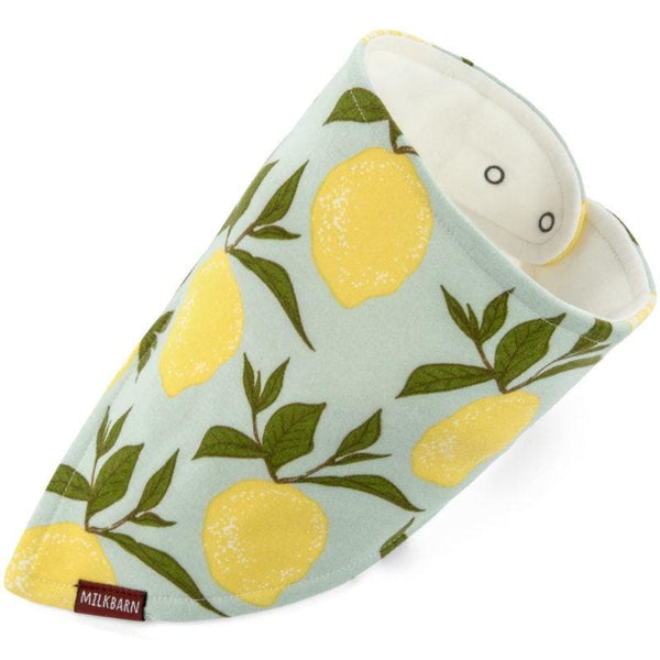 Organic Kerchief Bib - Lemon kids clothing