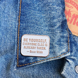 Found Pin- Oscar Wilde Quote