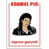 Found Pin-Michael Jackson