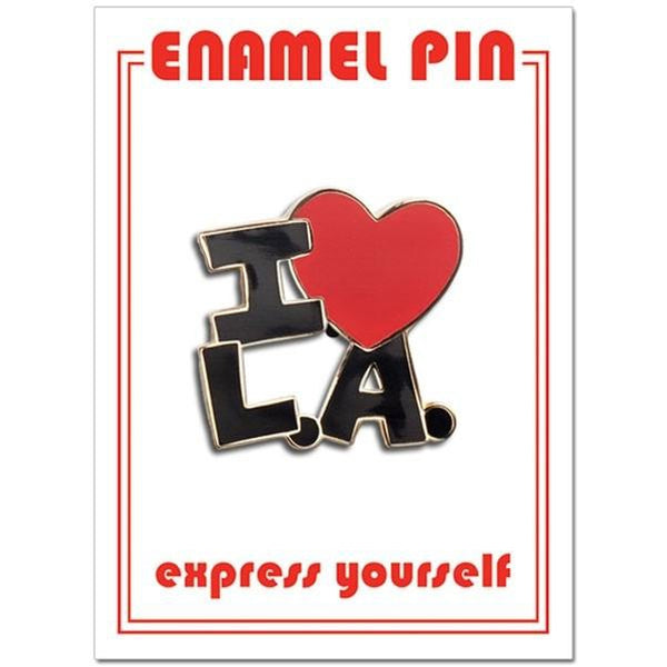 Found Pin- I Heart LA