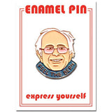 Found Pin- Bernie, Feel The Burn