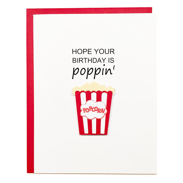 Poppin Greeting Card