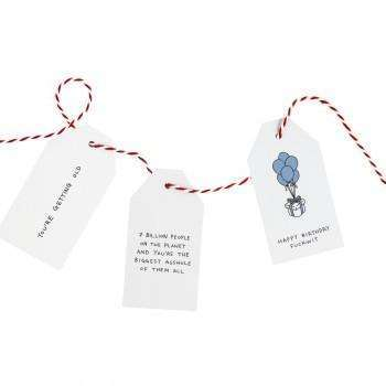 Paul Gandhi Gift Tags