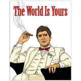 Scarface Greeting Card Greeting Card