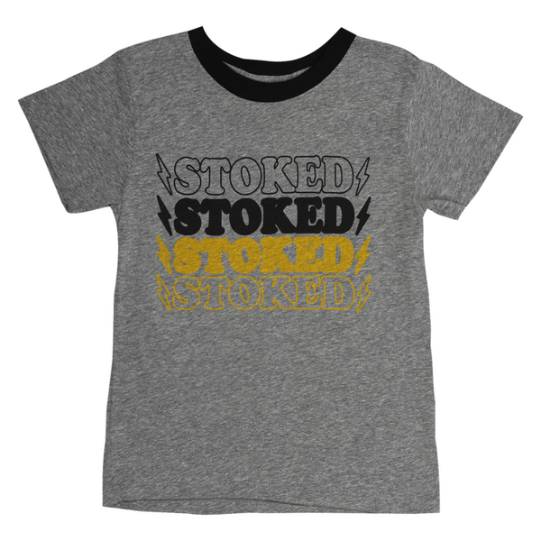 Stoked Tee 2T Kids Clothing
