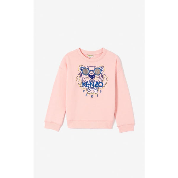 Tiger Middle Pink Sweater 1A Kids Clothing