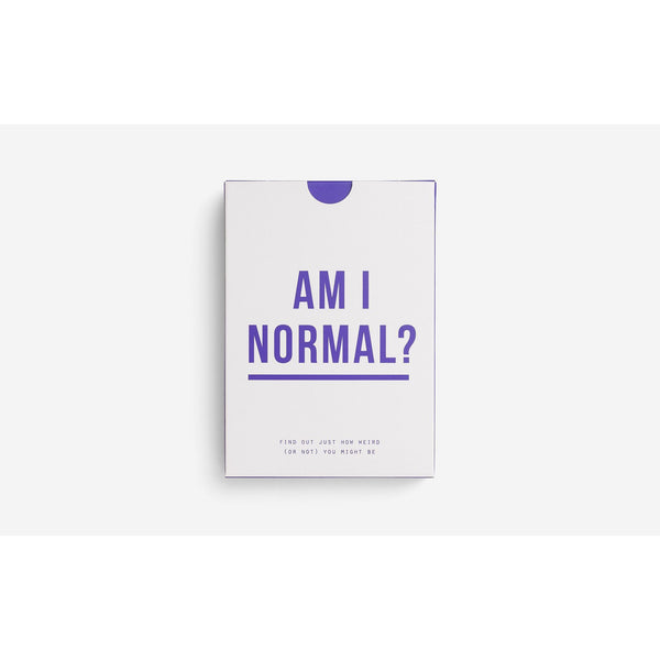 Am I Normal-Card Games