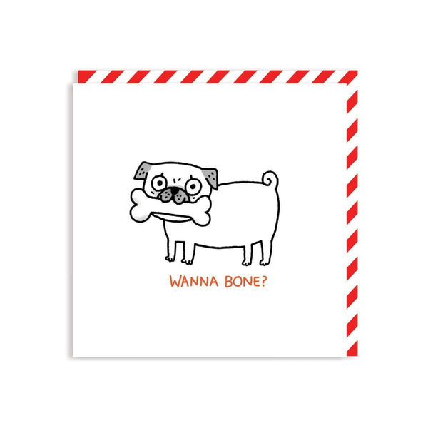 Wanna Bone Greeting Card