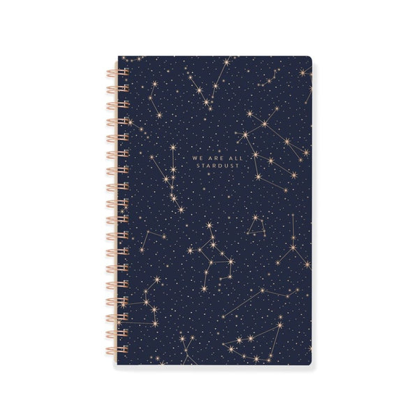 We Are All Stardust Spiral Notebook journal
