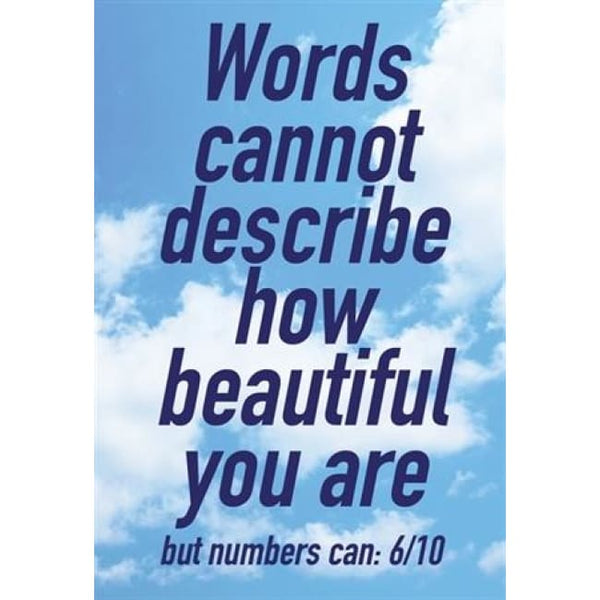 Words Greeting Card Greeting Cards