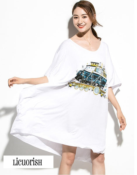 Loose Batwing New Age Ark Oversize T