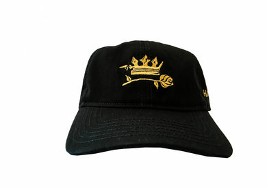 'Roses and Crowns' Baseball Cap - Haute Filth