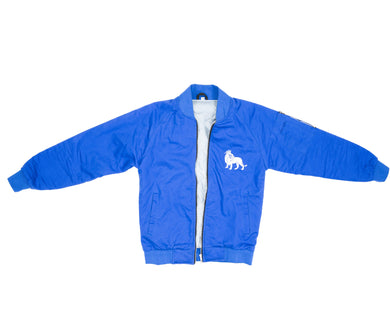 The Lion Bomber (Blue Cotton Lining) - Haute Filth