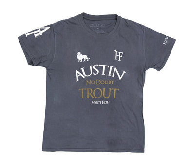 HF x Austin Trout Camp Tee (Charcoal) - Haute Filth