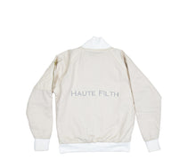 The Lion Bomber (Cream Cotton Lining) - Haute Filth