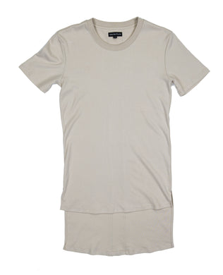Élégant Long Tee - Cream
