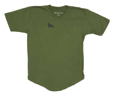 Logo Scoop Tee (Military Green)