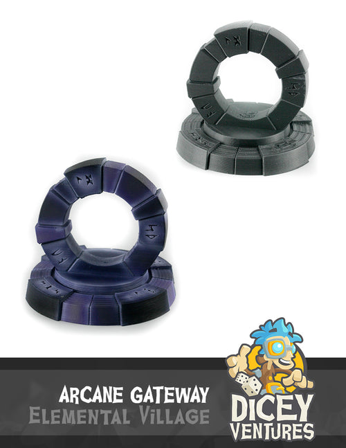 Arcane Gateway - 3D Printable Model