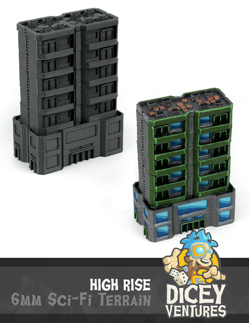 6mm Sci-Fi Terrain: Wave 1 BUNDLE