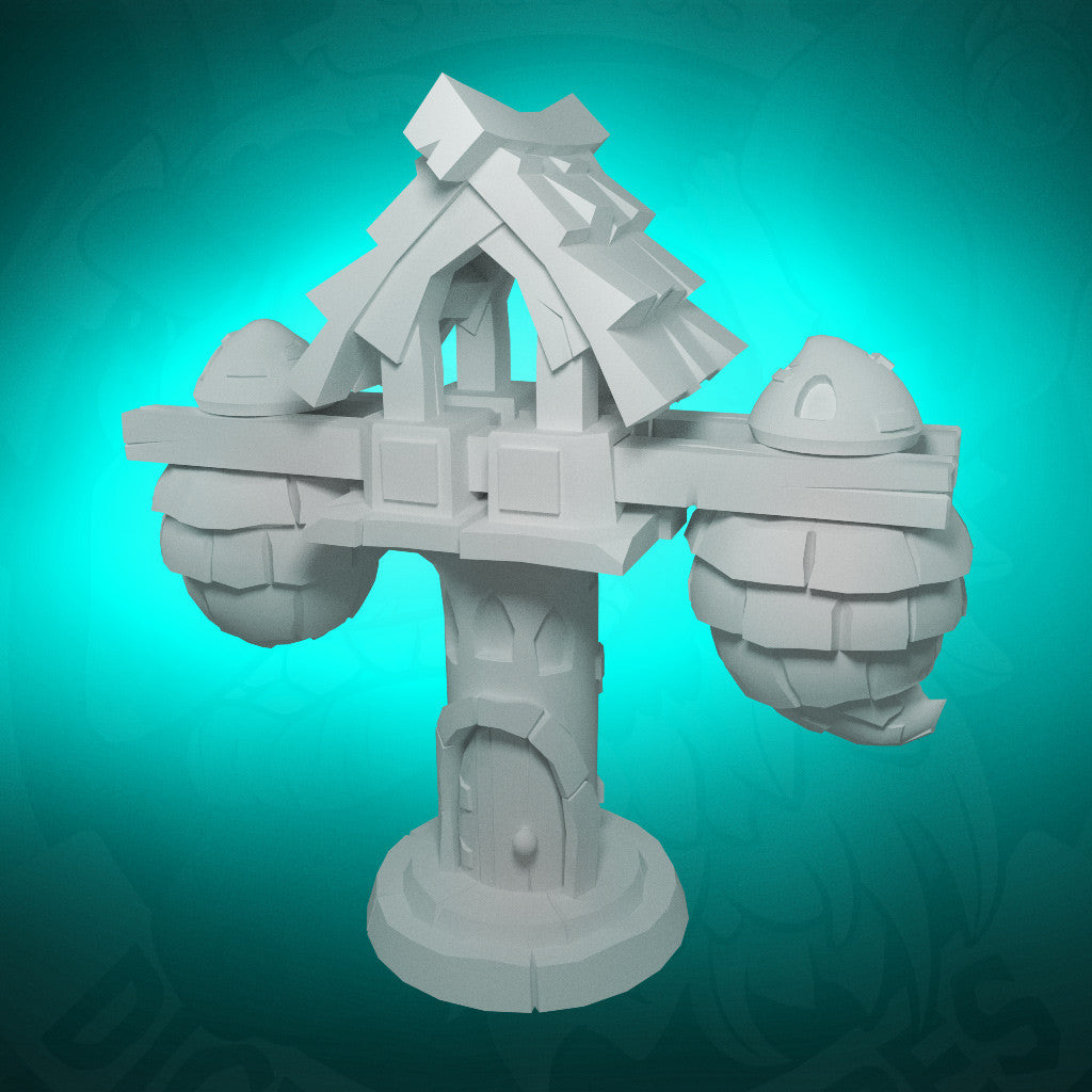 Air Dwelling - 3D Printable Model