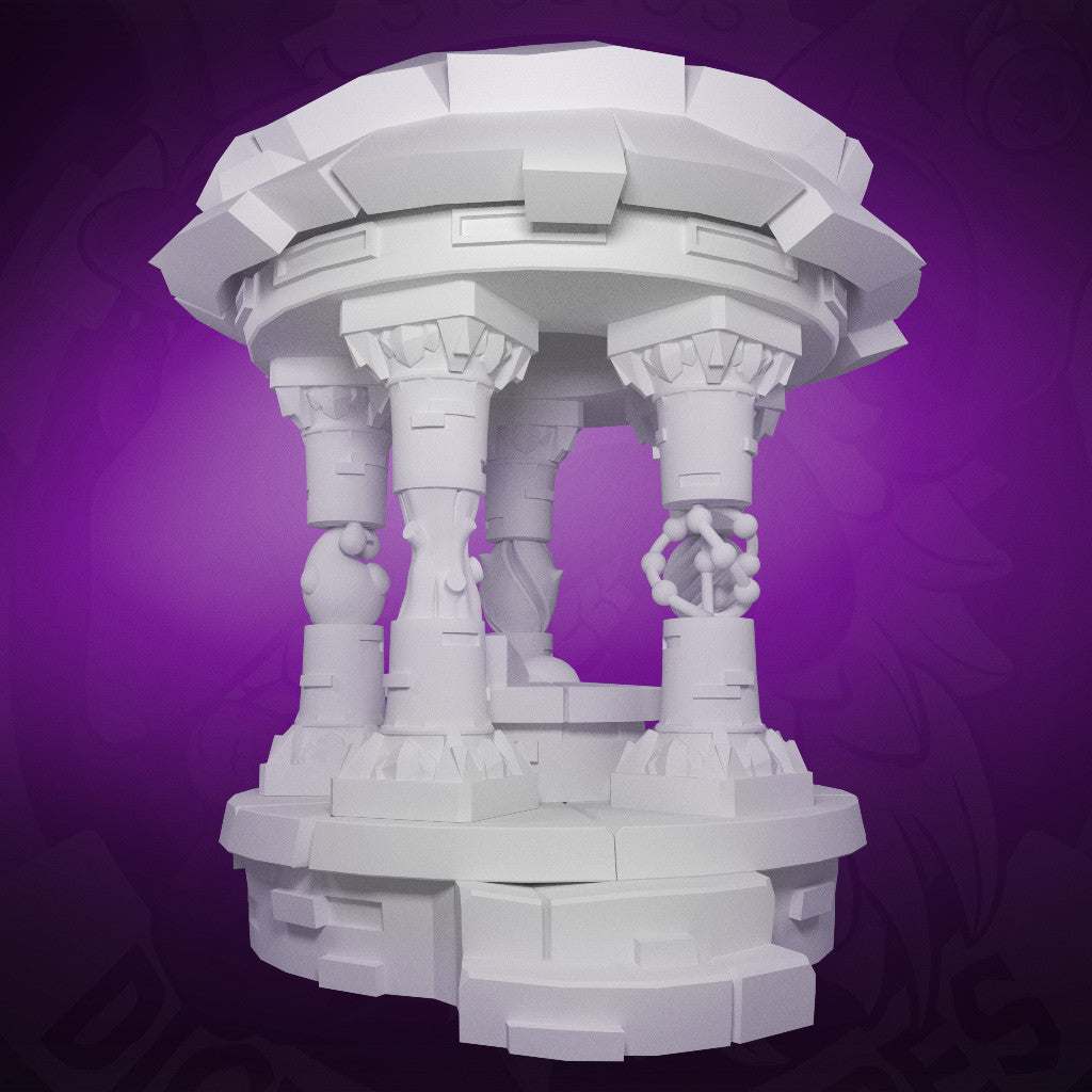 Arcane Temple - 3D Printable Model